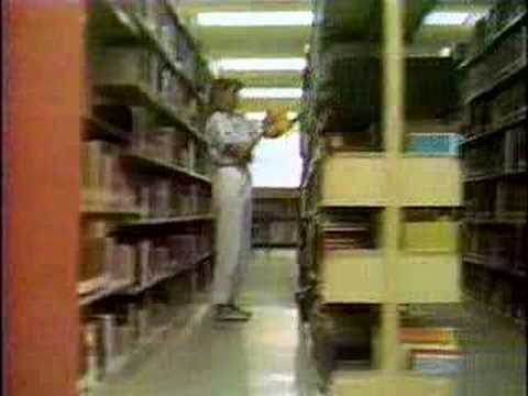 Retro Weird: Librarians' Workout Video from 1987