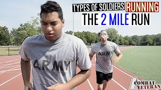 getlinkyoutube.com-Types Of Soldiers Running The 2 Mile Run!