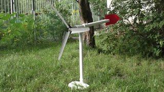 getlinkyoutube.com-Jak zrobić Turbinę Wiatrową !! | Wiatrak | naładuj telefon za free!