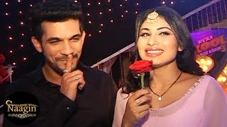 getlinkyoutube.com-Naagin Behind The Scenes & On Location Fun With Ritik & Shivanya