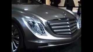 Первый и единственный в мире Mercedes Benz F700 |