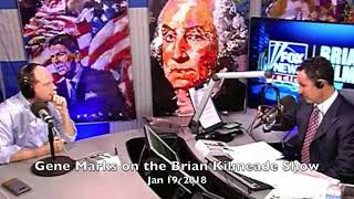 Gene Marks on the Brian Kilmeade Show, 1/19/18