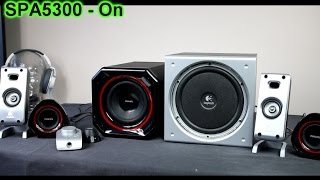 getlinkyoutube.com-Logitech Z3e vs Philips SPA5300 2.1 system bass-sound test