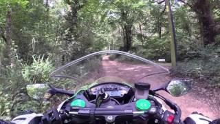 getlinkyoutube.com-Kawasaki ZX10R off-road - amazing traction control