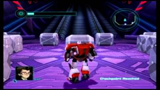 DevasiaMentaity Plays Transformers Prime(Wii) Pt.8
