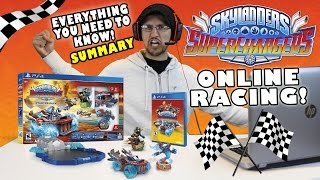 getlinkyoutube.com-SKYLANDERS SUPERCHARGERS! Everything You Need To Know + ONLINE CO-OP RACING! (DEMO SUMMARY WRAP UP)