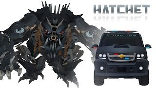 Dreads HATCHET Transform   Short Flash Transformers Series