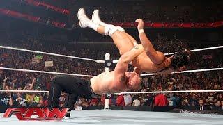 getlinkyoutube.com-Paul Heyman and Brock Lesnar call out The Undertaker: Raw, Aug. 24, 2015