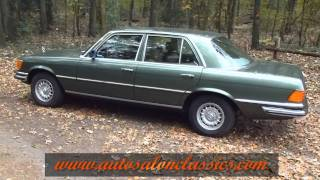 getlinkyoutube.com-1978 Mercedes Benz 280S W116