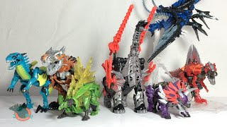 getlinkyoutube.com-Transformers 4 Age of Extinction ALL Dinobots Review