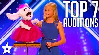 The-Best-Top-7-AMAZING-Auditions-Americas-Got-Talent-2017 width=