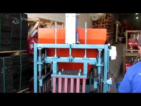 ATLANTICA MAQ - Máquina para fabricação de Blocos estruturais -