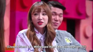 getlinkyoutube.com-[ENG SUB] 151107 Hani and LE on Same Bed Different Dream   YouTube