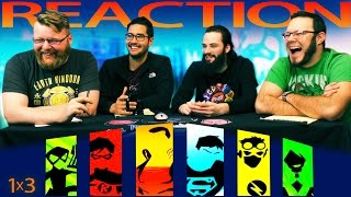 "Young Justice 1x3 REACTION!! ""Welcome to Happy Harbor"""