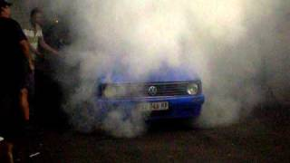 getlinkyoutube.com-VW MK1 Turbo Burnout