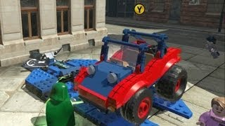 getlinkyoutube.com-LEGO Marvel Super Heroes - Spider Buggy Free Roam & Race Events (DLC Super Pack)