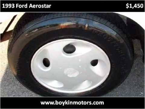 1991 Ford Aerostar Problems Online Manuals And Repair