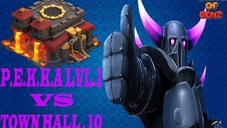 getlinkyoutube.com-Clash Of Clans Master Benz - P.E.K.K.A VS TOWN HALL LVL 10