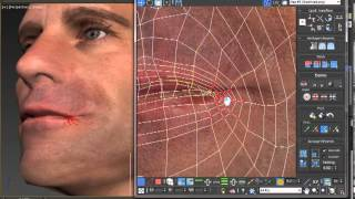 getlinkyoutube.com-How to Texture a Head Model in 3ds Max by Mike Bauer