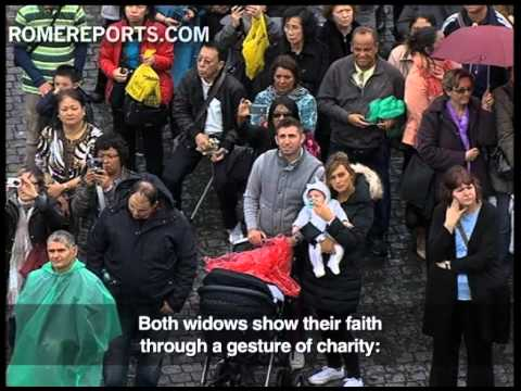 Pope's Angelus  How faith is linked to charity