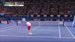 getlinkyoutube.com-Stanislas Wawrinka vs Djokovic Aus  Open 2014 1280 x 720