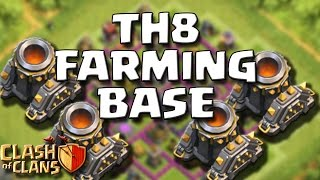 getlinkyoutube.com-MIGLIORE BASE LV.8 FARMING (4 MORTAI) [Speed Build]