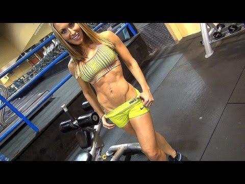 "Women's Ultimate ""SIX-PACK"" ABS Gym Workout!!! w Kaycie Davis, Part 1"