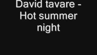 David tavare - Hot summer Night