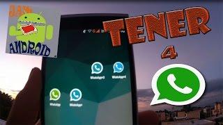 getlinkyoutube.com-Tener 3 Números de WhatsApp en Un Teléfono Android