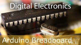 getlinkyoutube.com-Arduino: Arduino on a Breadboard