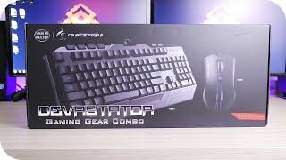 getlinkyoutube.com-Mejor teclado y raton gamer barato: Cooler Master CM Storm Devastator Analisis Español