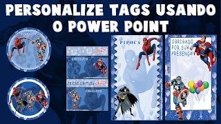getlinkyoutube.com-Personalize seus próprios rótulos e tags usando o Power Point e word