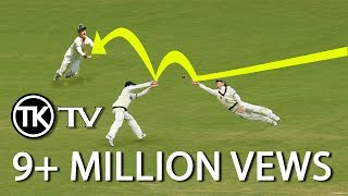 getlinkyoutube.com-cricket's most unexpected catches - accidental catches