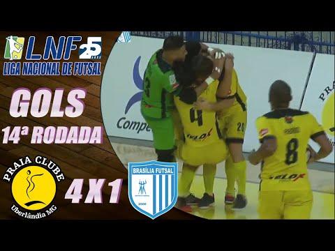 JOGO COMPLETO: Praia 4 x 1 Brasília Futsal – 14ª Rodada LNF 2020 (31/10/2020)
