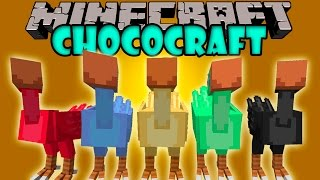 getlinkyoutube.com-CHOCOCRAFT - Viaja en Chocobos! - Minecraft mod 1.5.2, 1.6.4 y 1.7.10 Review ESPAÑOL