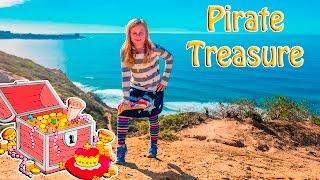 getlinkyoutube.com-ASSISTANT Spooky Pirate Treasure Scavenger Surprise Hunt Toys Video