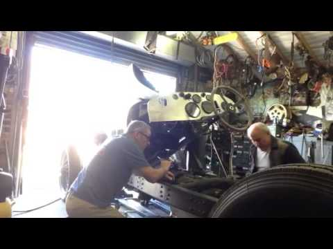 Fitting the 3.0 DTi clutch to the Vintage 4 litre Bentley.
