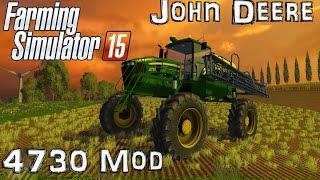 getlinkyoutube.com-Farming Simulator 15: Mod Showcase - John Deere 4730 Sprayer