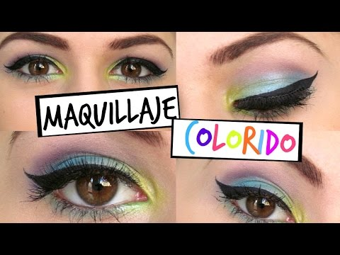 Maquillaje Colorido (Primavera) | ESCALADECRISES