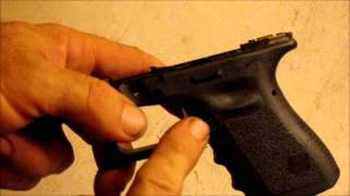 getlinkyoutube.com-DIY Glock Grip Reduction