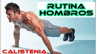 Rutina Hombros Calistenia - 3 NIVELES!
