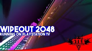 getlinkyoutube.com-WipEout 2048 on PlayStation TV Gameplay | SteeScribbles