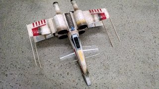 getlinkyoutube.com-Very Modified Air Hogs Star Wars: Episode VII  Remote Control X-Wing Starfighter