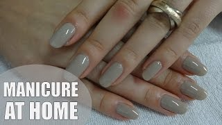 getlinkyoutube.com-Manicure at home | My nail care routine