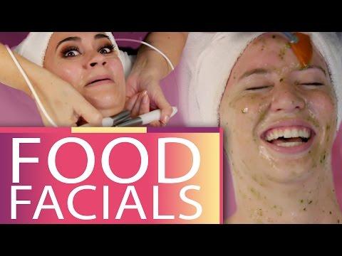 Edible FOOD Facials?!  (Beauty Trippin)