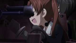 getlinkyoutube.com-Girls und Panzer 09 - Ooarai 38(t) vs. Pravda T-34