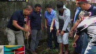BP: Bakanteng lote sa Kawit, Cavite kung saan umano inilibing ni Ronald Bae and 2 lalaki, hinuhukay