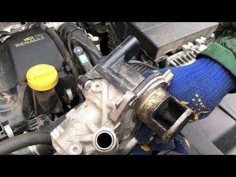 Чистим клапан EGR и впускной тракт Renault Megane 1,5DCI 2013 года