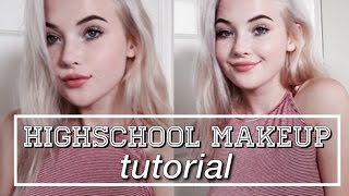 High School Makeup Tutorial | okaysage