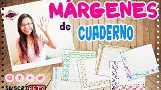 getlinkyoutube.com-VUELTA A CLASE: Márgenes para cuaderno!!!-Super fácil